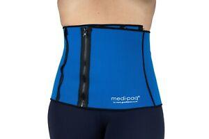 Waist Slimming Belt Adjustable Trimmer Trainer Tummy Cincher Corset Support UK