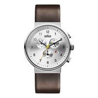Braun Men's BN0035SLBRG Classic Chronograph Quartz Brown Watch