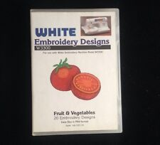 Fruits And Vegetables Embroidery Designs Card For Baby lock Bernina Deco Brother
