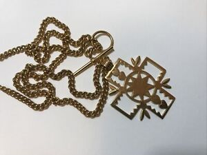 Wright & Teague Cross Necklace
