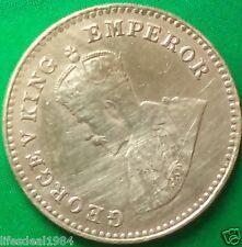 British India King George V 1/12 anna rare fine condition commemorative coin
