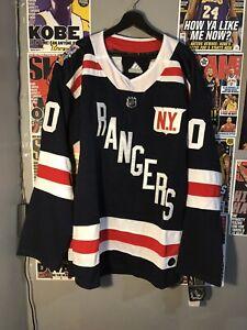 NWT Henrik Lundqvist #30 New York Rangers Adidas '18 Winter Classic Mens XL 54
