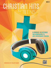 Christian Hits For Teens Book 2 (8 Graded Selections) Piano Music Book Brand New
