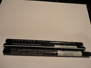 3 AVON glimmerstick brow define liners LIGHT BLONDE True Color (3) discontinued