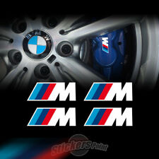 4 Adesivi pinze freni M PERFORMANCE BMW stickers TUNING serie1-2-3-4-5-6 X1 X2