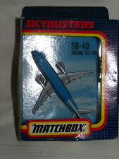 Matchbox Skybusters Aircraft SB-40 Boeing 737-300 KLM Jet - UNBESPIELT IN OVP