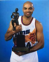 CHARLES BARKLEY Photo 8x10 Print SUNS MVP TROPHY IMAGE NBA 8x10