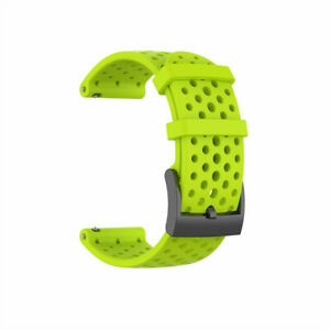 Silicone Replacement Watch Band Strap For Suunto 9/9 Baro/Spartan Sport Wrist HR