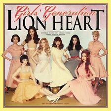 GIRLS' GENERATION SNSD VOL.5 [ LION HEART ]  CD+UNFOLD POSTER