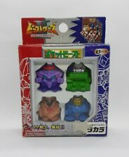 1998 Transformers BEAST WARS II Pocket Beasts Set B RARE Apache GALVATRON + !!!