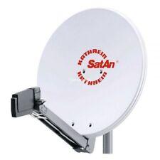 Kathrein CAS 80 Sat Alu Spiegel Antenne hell & UAS 572 Twin LNB