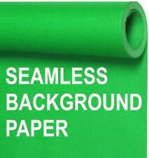 Seamless Photo Background Paper Roll Chroma Key Green, 53 Inches Wide x 36 Feet