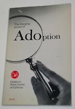 """VG 1984 """"The Changing Picture of Adoption"""" Children's Home Society of California"""