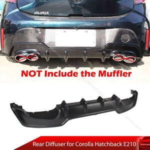 Fit For Toyota Corolla Hatchback E210 Auris Rear Bumper Diffuser Unpainted