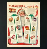 1947 Woolworths Advertisement Christmas Gifts Stocking Stuffers Vtg Print AD
