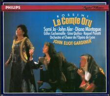ROSSINI LE COMTE ORY John Aler Cachemaille Montague Sumi Jo Quilico GARDINER 2CD