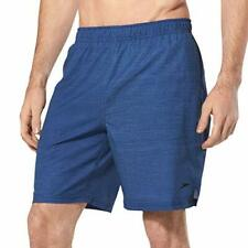 Speedo Mens Blue Hydrovent Lined Board Shorts Medium