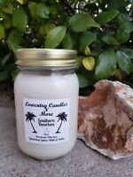 All Natural Soy Vegan Friendly Southern Bourbon Lotion Candle, Soy Candle