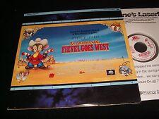 "FIEVEL GOES WEST<>STEVEN SPIELBERG<>2X12"" Laserdiscs<> MCA HOME VIDEO 41250"