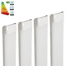 4x 4FT 1200mm 65w LED Batten Tube Light Office Industrial Ceiling Panel Lamp Kit
