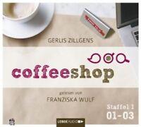 GERLIS ZILLGENS - COFFEESHOP 1.01-1.03  - AUDIOBOOK -  2 CD NEU!!