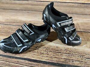 DIADORA Cycling MTB Shoes Mountain Bike Boots 2 Bolts Ladies EU38 US7