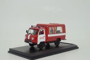 RARE !!! UAZ 452 Fire Chief Custom Made 1/43