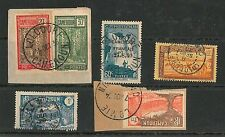 CAMEROON - POSTAL HISTORY: Small lot of used stamps with nice POSTMARKS #11