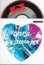 GREASE - The Dream mix CD SINGLE 2TR DUTCH CARDSLEEVE 1991 Olivia, Travolta