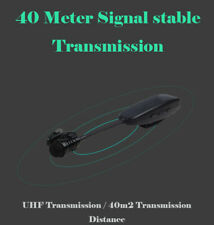 KX6512D Collar Clip UHF Wireless Microphone 650MHz-690MHz for Teaching Speaker