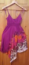 Matalan Pretty Sequin Embellie Mauve Floral Soleil Robe-Taille 8