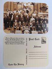 Beer Bar Coaster Postcard: TIVOLI - UNION Brewing Co ~ COLORADO'S Oldest Brewery