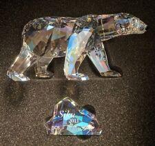 SWAROVSKI SCS 2011 SIKU Polar bear + Clear Cubs 1053154/1079156