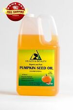 PUMPKIN SEED OIL REFINED ORGANIC by H&B Oils Center COLD PRESSED 100% PURE 7 LB
