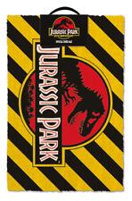 Jurassic Park (Warning)  Doormat GP85267  60cm x 40cm
