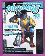 ▬► PLAYMAG Magazine 🎮 N°10 Janv 1997 Playstation_Saturn_Nintendo 64 Zelda Mario