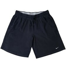 Vintage NIKE Shorts Small Swoosh Heavy Cotton Navy Blue sz XL