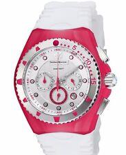 New Technomarine 115238 New Zealand Red White Chronograph Watch
