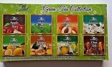 Tea Land Hot Green Tea Sampler - 40 Tea Bag, 8 Flavor Assortment