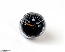 New Micro Gauge 1 inch 300 PSI Pressure for HPA Nitro Air CO2 tank systems