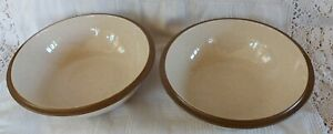 Pair of Gourmets Pride Kalahari Sands Bowls - Beige/Oatmeal, new