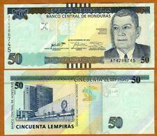 Honduras, 50 Lempiras, 2016, P-New, UNC