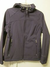 Free Country Purple Soft Shell Faux Fur Lined Hooded Jacket Active Small NWT