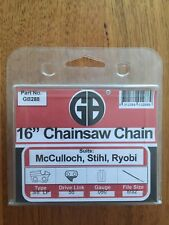 GB 16inch Chainsaw Chain .. Suits McCulloch Stihl Ryobi Echo