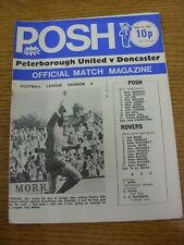 17/09/1973 Peterborough United v Doncaster Rovers  (Rusty Staple). Thanks for ta