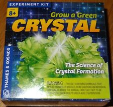 Grow a Green Crystal Science of Crystal Formation Thames & Kosmos Experiment Kit