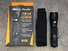 Fenix TK15 Flashlight - 1000 Lumens 5 Modes - TK15UEBK - Ultimate Edition -Black