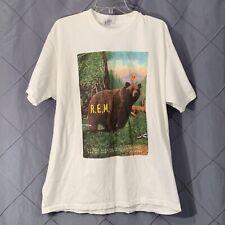 Vtg R.E.M. Monster Shirt 1995 2 Sided Tour Original Tee Nirvana Sonic XL Rem