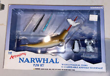 The Avenging Narwhal Playset Original Packaging by Accoutrements New