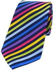 Corbatas, pajaritas y pañuelos de hombre multicolor de seda
